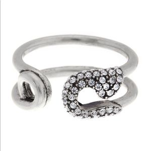 Marc Jacobs Safety Pin Ring NWT